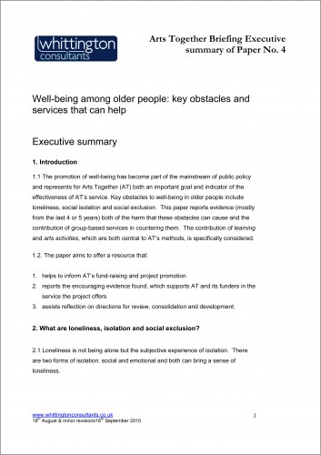 Microsoft Word - Well-being and older people_AT_execsumm_190810a