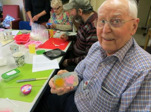 Creative soap-making at Corsham