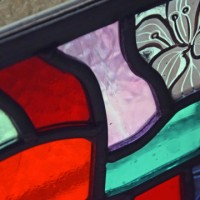 stained glass by Annie Mulholland