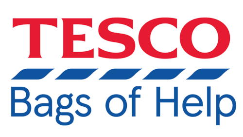 Supported by Tesco Bags of Help